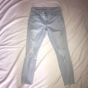 Old Navy Rockstar Distressed Ankle Jeans